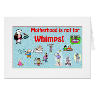 La maternidad no está para la tarjeta de