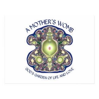 La matriz de una madre: El jardín de dios de la Postal
