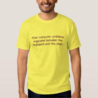 La mayoría de la camiseta de los problemas del