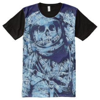 La mayoría del arte congelado popular de la camiseta con estampado integral