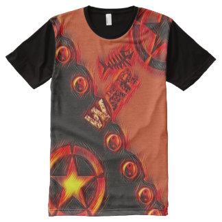 La mayoría del arte pop popular de Yin Yang de la Camisetas Con Estampado Integral