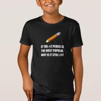 La mayoría del lápiz popular camiseta