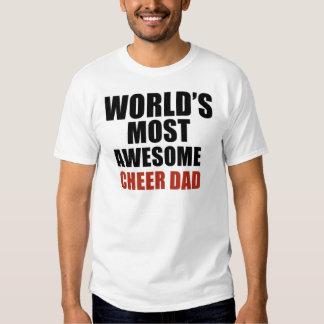 La mayoría del papá impresionante de la alegría camisetas