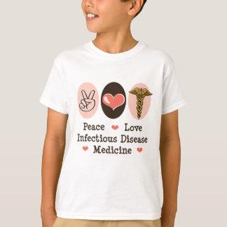 La medicina de la enfermedad infecciosa del amor camisas