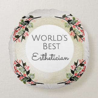 La mejor almohada del regalo del Esthetician del
