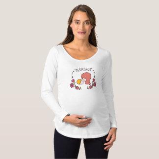 La mejor camisa con mangas de la maternidad del