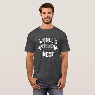 La mejor camisa del texto de la tipografía de