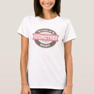 La mejor camiseta de las señoras del logotipo del