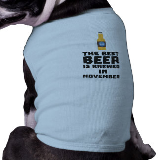 La mejor cerveza es en noviembre Zk446 elaborado