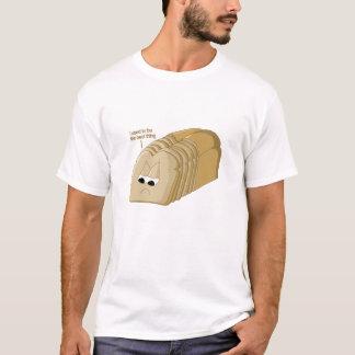 La mejor cosa desde el pan cortado camiseta