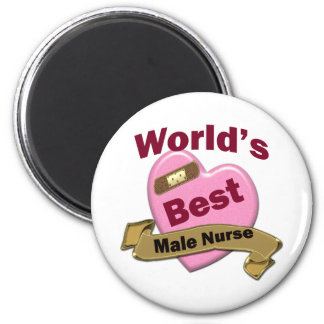 La mejor enfermera de sexo masculino del mundo imán para frigorifico