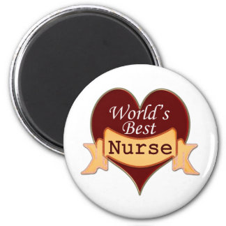 La mejor enfermera del mundo imán