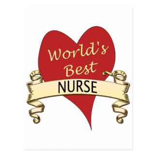 La mejor enfermera del mundo postal