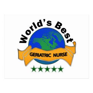 La mejor enfermera geriátrica del mundo postal