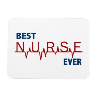 La mejor enfermera nunca imán