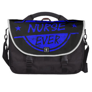 La mejor enfermera siempre azul bolsas de ordenador