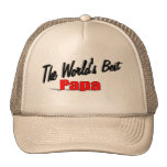 La mejor gran papá del mundo gorras