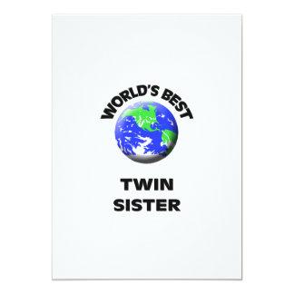 La mejor hermana gemela del mundo comunicado personal