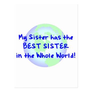 La mejor hermana postales