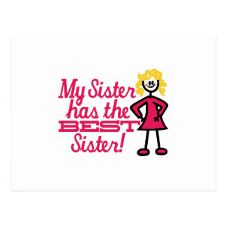 La mejor hermana postal