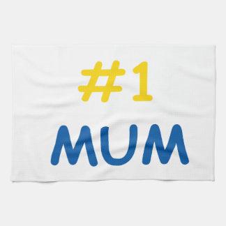 la mejor madre de la momia #1 paño de cocina