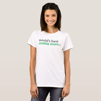 La mejor mamá de la galleta del mundo camiseta