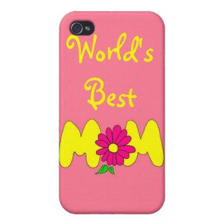 La mejor mamá del mundo iPhone 4 fundas