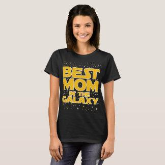 La mejor mamá en la camiseta de la camisa de