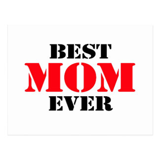 La mejor mamá nunca postal