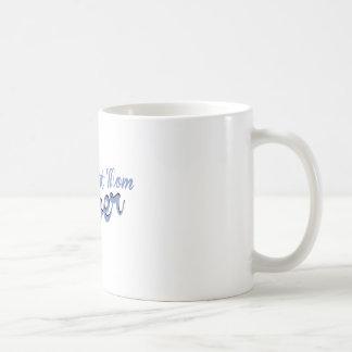 La mejor mamá nunca taza básica blanca