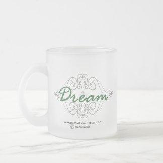 La mejor manera de predecir el futuro es crearlo taza de café esmerilada