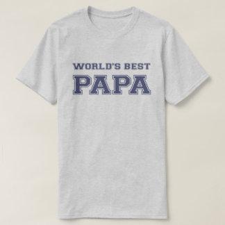 La mejor papá del mundo camiseta