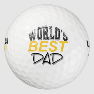 La mejor pelota de golf del día de padre del papá