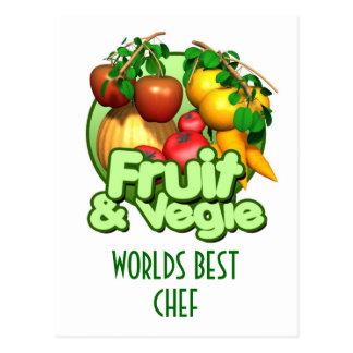 La mejor postal del cocinero de los mundos