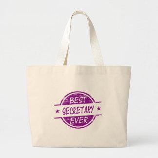 La mejor púrpura de secretaria Ever Bolsas