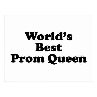 La mejor reina del baile de fin de curso del mundo postal