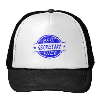 La mejor secretaria Ever Blue Gorras De Camionero