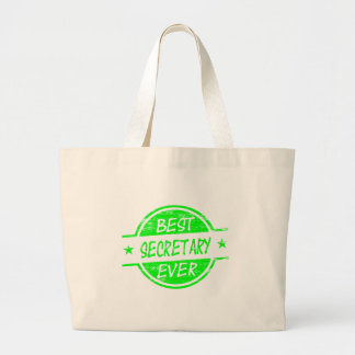 La mejor secretaria Ever Green Bolsas