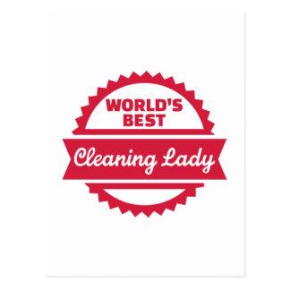 La mejor señora de la limpieza del mundo postal