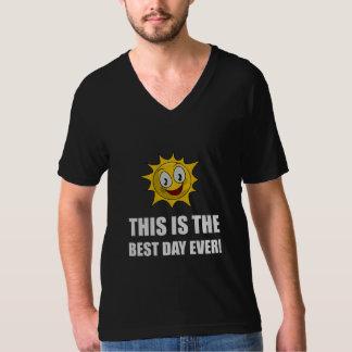 La mejor sol del día nunca camiseta