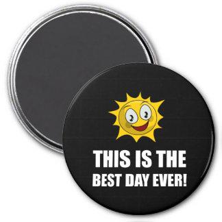 La mejor sol del día nunca imanes