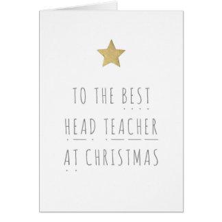 La mejor tarjeta de felicitación del navidad de la