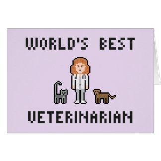 La mejor tarjeta de felicitación veterinaria