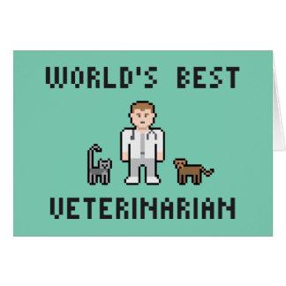 La mejor tarjeta de felicitación veterinaria del