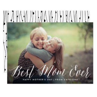 La mejor tarjeta del día de madre de la escritura