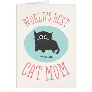 La mejor tarjeta del día de madre de la mamá del