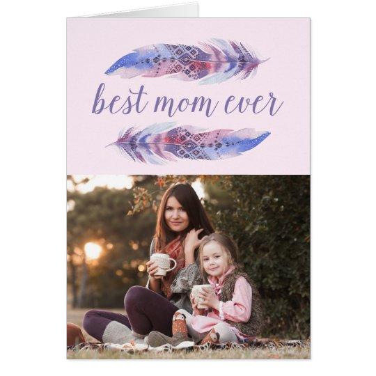 La mejor tarjeta del día de madre de la mamá el