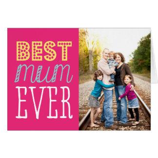 La mejor tarjeta del día de madre de la momia