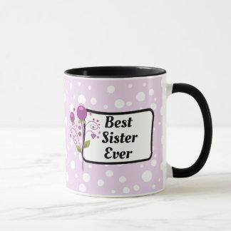 La mejor taza de café siempre púrpura de la