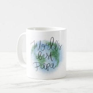 La mejor taza de la papá del mundo